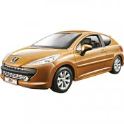 Peugeot 207 1:24 goud