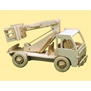 Pebaro - Maqueta madera camion elevador