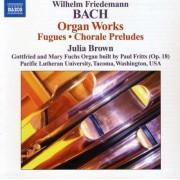 W.F. Bach - Organ Works (0747313057177) (1 CD)