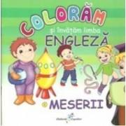 Meserii - Coloram Si Invatam Limba Engleza