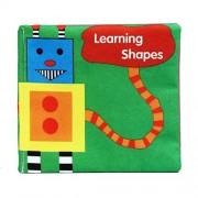 Malloom® blando libro de tela, Bebé Desarrollo de Inteligencia Aprender y leer (shapes)