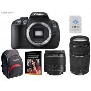 Canon EOS 700D 18MegaPixel Digital Camera with 18-55 DC & 75-300mm DC lens