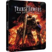 Transformers Age of Extinction BluRay 3D Steelbook 3 discuri 2014