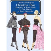 Christian Dior Fashion Review Paper Dolls by Tom Tierney