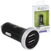 INCARCATOR AUTO USB 3.1A LED MLIFE ML0584