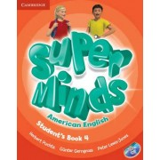 Super Minds American English Level 4 Student's Book with DVD-ROM by Herbert Puchta