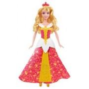 Mattel Poupée Princesse Disney : Aurore et sa robe enchantée