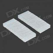 T-2-20 DIY Sand modelo de la tabla que hace las barras aislantes / barras plasticas - blanco (20 PCS)