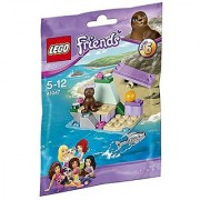 Lego Friends seals and Seaside 41047