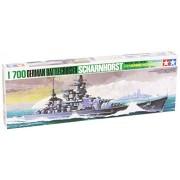 Tamiya 1/700 Scharnhorst Battleship TAM77518 (japan import)