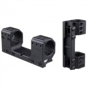 Spuhr Picatinny Mounts - 34mm Isms Mount 121mm Mounting Length 0 Moa