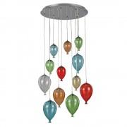 Lampa suspendata baloane - Clown S12 Multicolor