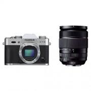 Fujifilm X-T10 srebrny + ob. XF 18-135 mm Dostawa GRATIS!
