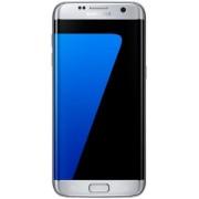"Telefon Mobil Samsung Galaxy S7 Edge, Procesor Octa-Core 2.6GHz / 1.6GHz, QHD Super AMOLED Capacitive touchscreen 5.5"", 4GB RAM, 32GB Flash, 12MP, 4G, Wi-Fi, Android (Argintiu) + Cartela SIM Orange PrePay, 5 euro credit, 8 GB internet 4G"