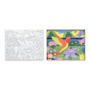 Melissa & Doug Canvas Creations Hummingbird