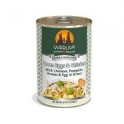 Weruva Green Eggs & Chicken with Chicken, Egg, & Greens in Gravy Grain-Free Canned Dog Food, 14-oz, case of 12