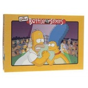 Battle of the Sexes Simpsons Board Game by University Games