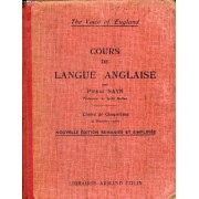Cours De Langue Anglaise, Classe De 5e Et 1re Annee (The Voice Of England)