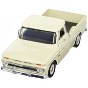 Cream 1966 Chevy C10 Fleetside Pickup 1:24 Scale Diec Cast