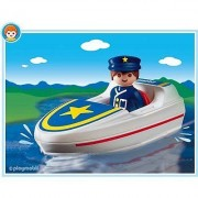 Playmobil 6720 - Policier/ Bateau