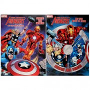 The Avengers Set of 2 Coloring and Activity Books
