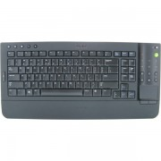Tastatura DELL, model: KR669, layout: UK, NEGRU, , WIRELESS, MULTIMEDIA Compatibil doar cu DELL ALL IN ONE!