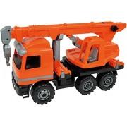 Lena 02177 - Forte Grande Actros Grue Chariot, Orange, env. 70 cm