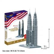 "CubicFun 3D Puzzle MC-Serie ""Torres Petronas - Kuala Lumpur"""