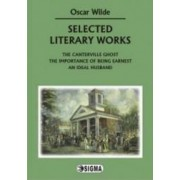 Selected literary works - Oscar Wilde