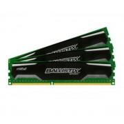 Ballistix Sport 6 Go (3 x 2 Go) DDR3 1600 MHz CL9, Kit Triple Channel RAM DDR3 PC12800 BLS3CP2G3D1609DS1S00CEU par Crucial)