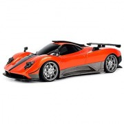 WFC Pagani Zonda R Remote Control RC Car 1:16 Scale Size Ready To Run w/ Bright LED Headlights (Colors May Vary)