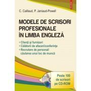 Modele de scrisori profesionale in limba engleza. Editia 2016 + CD