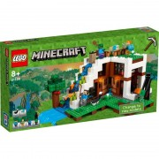 Lego minecraft la base alla cascata
