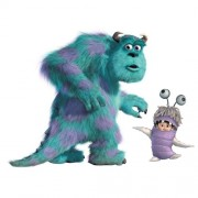 RoomMates Children's Repositonable Disney Wall Stickers, Giant Sully and Boo