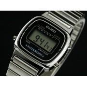 Reloj Digital Casio de Mujer LA670WA Plateado Retro Barato