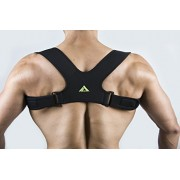 My Pro Supports Clavicle Brace Posture Corrector Support Strap (Large / X-Large, Black)