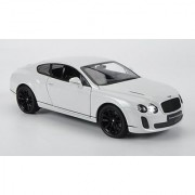 Bentley Continental Supersports white Model Car Ready-made Welly 1:24