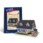 Cubicfun 3D Puzzle - Bridal Tea House British Flavor - W3105H
