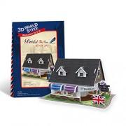 Cubicfun 3D Puzzle - Bridal Tea House British Flavor - W3105H