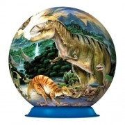 Puzzle 3D - Dinozauri, 72 piese