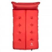 Yucatana Goodbreak 10, 10 cm, roșie, saltea gonflabilă, autogonflabilă, secțiune pentru cap