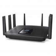 ROUTER, Linksys EA9500, Max-Stream, Wireless-AC5400, Tri-Band, Roaming, 8x Gigabit switch, 2.4+5.0+5.0 GHz, USB 3.0