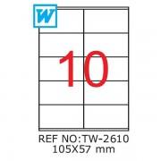 Etichete A4,105 x 57mm,Set 100 buc