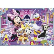 Clementoni 24433 - Puzzle Maxi Minnie and Her Pets, 24 pezzi