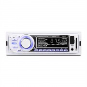 ONEconcept MD-185 Car Radio MP3 USB, SD AUX FM pre-out alb (TC8-MD-185-W)