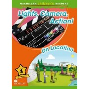 Macmillan Children's Readers Level 4: Lights, Camera, Action by K. Powell