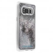 CaseMate Waterfall Case - дизайнерски кейс с висока защита за Samsung Galaxy S8 (сребрист)