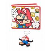 Set cadou - Nintendo - portofel si breloc