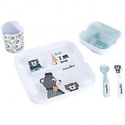 Babymoov Melamine Set Lovely Boy Blue