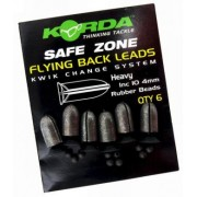 Korda Safe Zone Flying Backleads 4gr.
